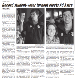 Ad Astra celebrates election win, looks forward to coming year
