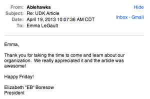 AbleHawks email